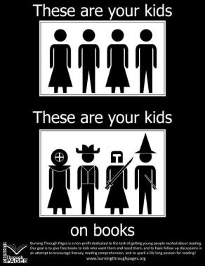 these are your kids on books