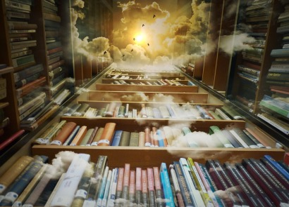 library in the sky image